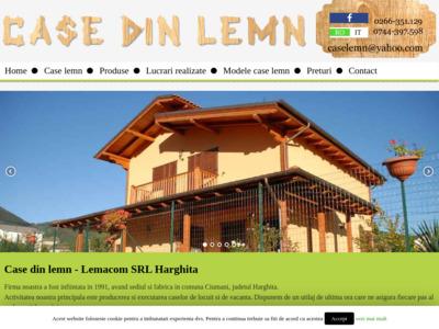 Case de lemn - Proiecte case din lemn