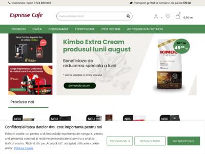 Espresso Cafe - magazin online de cafea