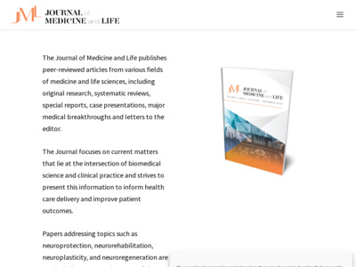 Journal of Medicine and Life