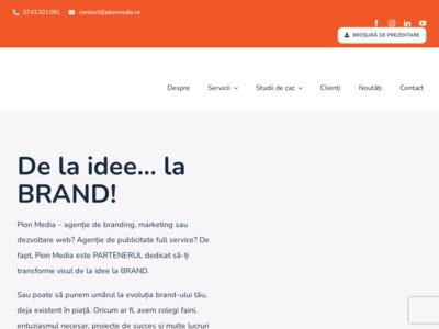 Pion Media - servicii promovare online