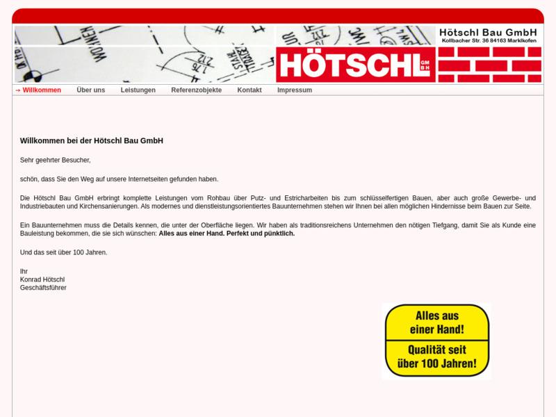 Bauunternehmen Hötschl