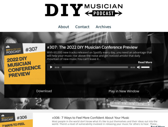 Screenshot of cdbabypodcast.com