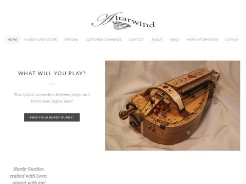 Screenshot of www.altarwind.com