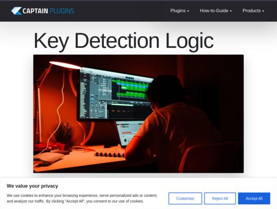 Screenshot of mixedinkey.com
