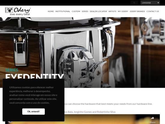 Screenshot of odery.com