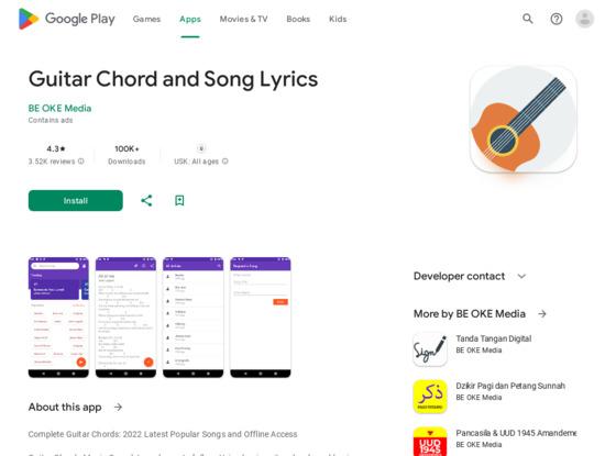 Screenshot of play.google.com