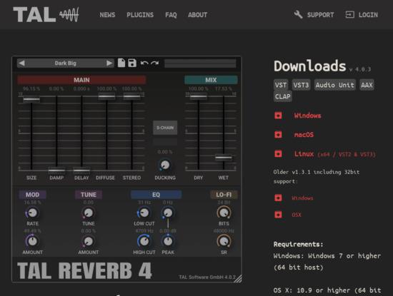 Screenshot of tal-software.com
