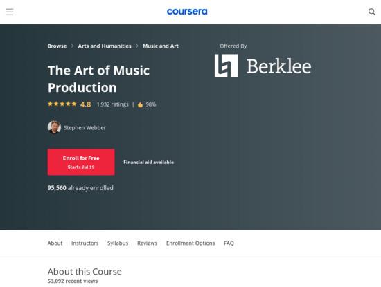 Screenshot of www.coursera.org