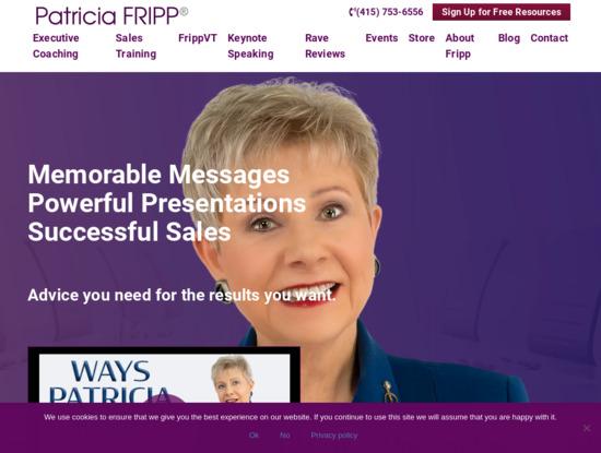Screenshot of www.fripp.com