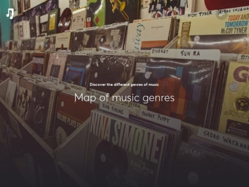 Screenshot of www.musicgateway.com