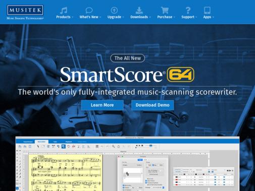 Screenshot of www.musitek.com
