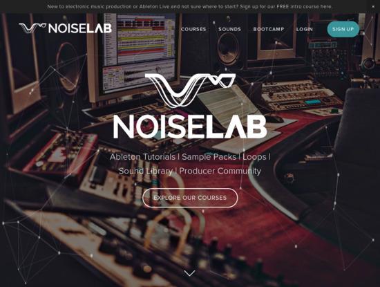 Screenshot of www.noiselab.io