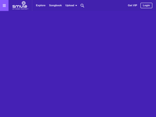 Screenshot of www.smule.com