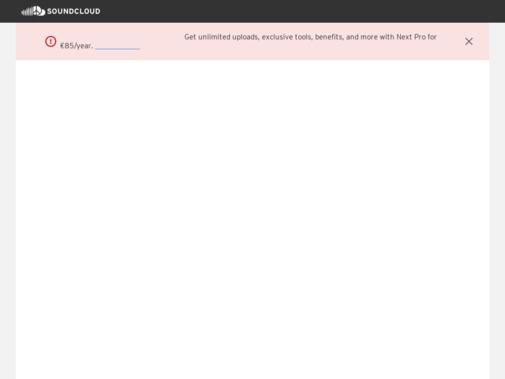 Screenshot of www.soundcloud.com