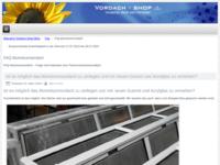 Aluminiumvordach FAQ