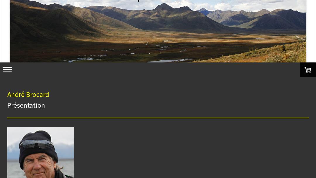 André Brocard, adhérent du Photo-Club Lot-Colagne, vous invite sur son tite
