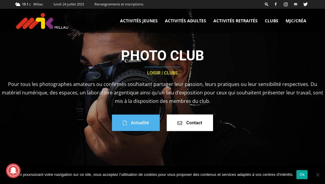 Club photo de Millau (Aveyron)