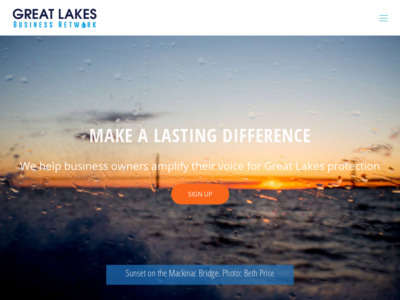 Great Lakes Business Network Website